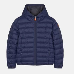 NEW Save The Duck Hooded Puffer Jacket
